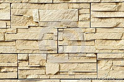 Steen decoratie muur