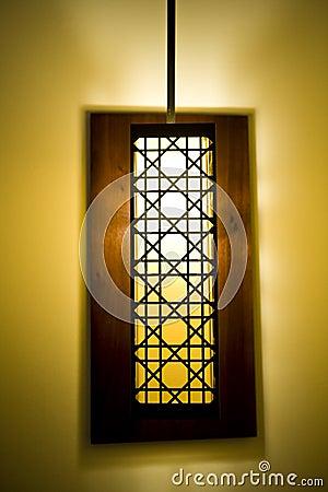 Decoratieve lampschaduw