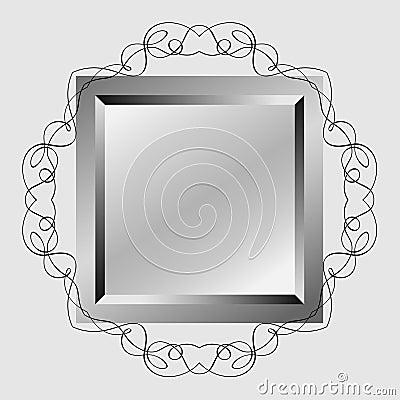 Decoratieve spiegel stock afbeeldingen afbeelding 29677194 - Decoratieve spiegel plakken ...
