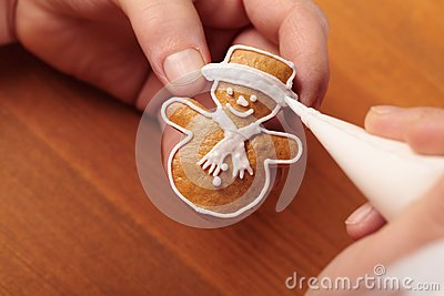 Decoratin cookie