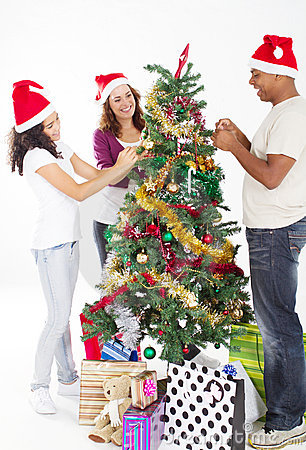 People Decorating For Christmas how to decorate your christmas tree with ease – green light energy