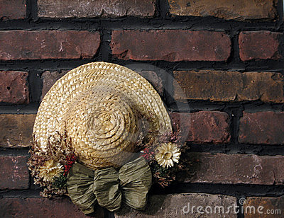 Decoration on Brick Wall