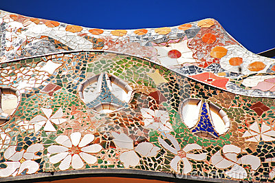 Decoration on casa battlo
