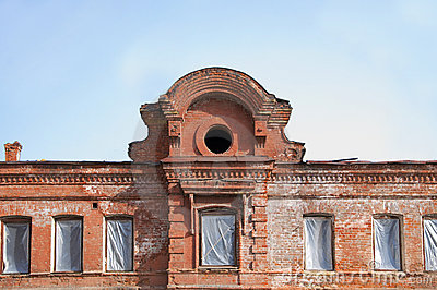 Decoration Of Old Buildings, Old School Statues An Royalty Free Stock Photo - Image: 16494325