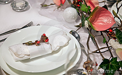Decoration on table