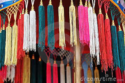 Decoration tassels