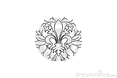 decorations element for boutique Logo Designs Inspiration Isolated on White Background. Vector Illustration