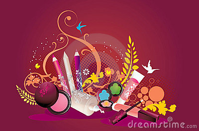 Decorative abstract background
