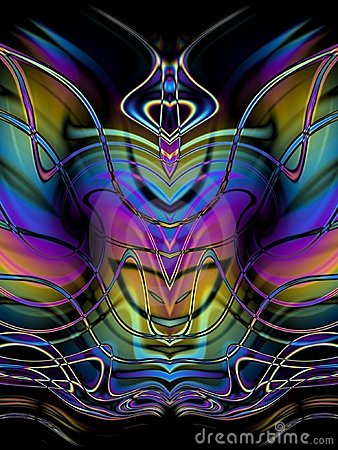 Decorative Abstract Butterfly