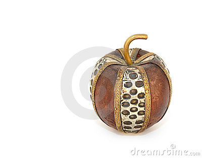 Decorative apple figurine