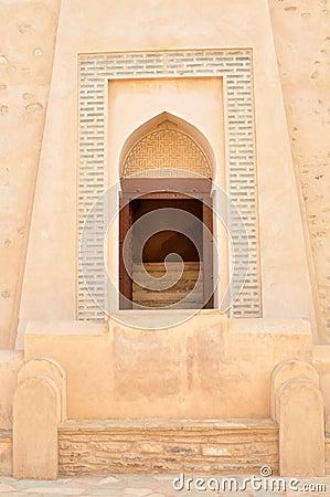 Decorative Arabic window