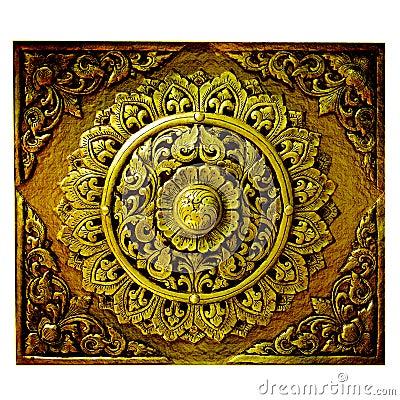 Decorative Art of Lanna Thai.