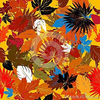 Decorative autumn graphic