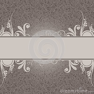 Decorative background with place for text