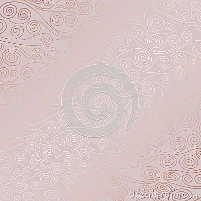 Free Decorative Background With Rose Gold Imitation Stock Images - 121599124