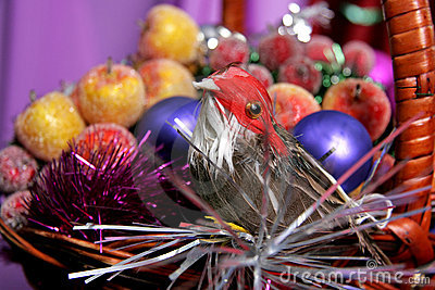 Decorative birdy