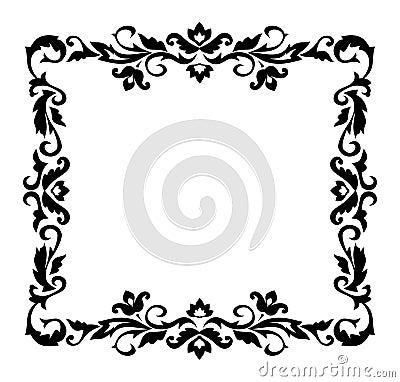 Free Decorative Border Ornament Stock Images - 1143914