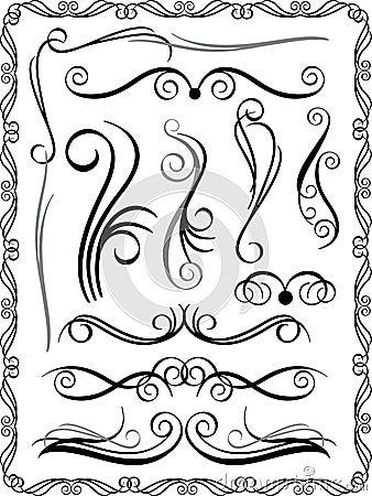 Decorative Borders Set 1