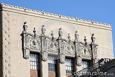 Decorative building facade