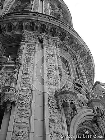 Decorative building in NY