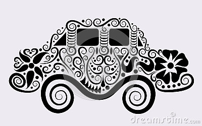 Decorative car