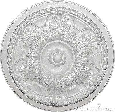 Free Decorative Ceiling Rose - 05 Stock Images - 11825344