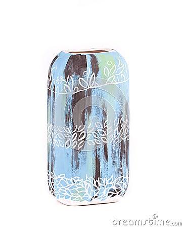 Decorative ceramic vase.