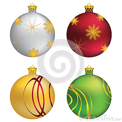Decorative Christmas balls