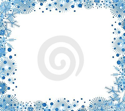 Free Decorative Christmas Border Stock Photo - 3528860