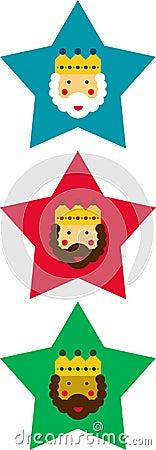 Decorative Christmas stars