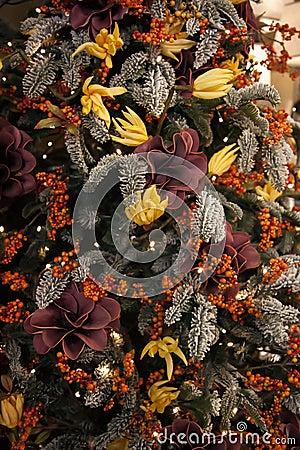 Decorative christmas tree