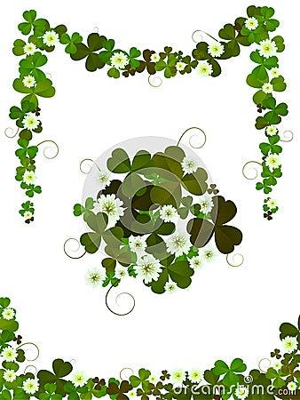 Decorative clover design