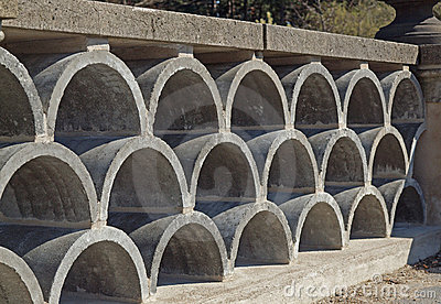 decorative concrete block