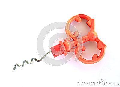Decorative corkscrew