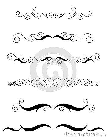 Free Decorative Dividers Stock Photos - 9973123