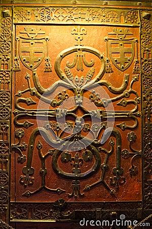 Free Decorative Door Panel Royalty Free Stock Image - 23789816