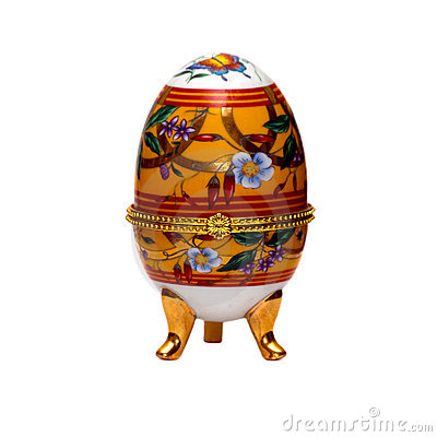 Free Decorative Easter Egg. Stock Photography - 13557982