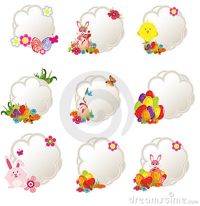 decorative easter tags