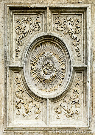 Decorative element of a cathedral , 16 century
