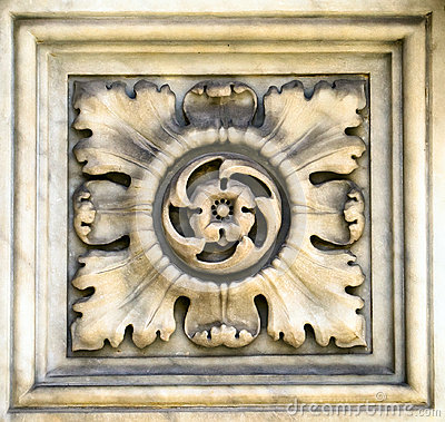 Decorative element of a cathedral, Italy, 16 century