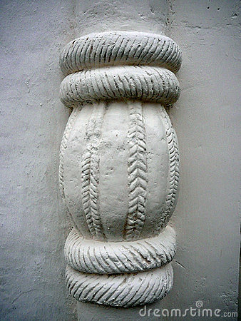Decorative Element on an Old Building