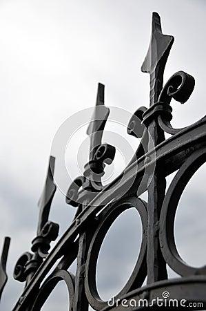 Free Decorative Fence Stock Photography - 5507802