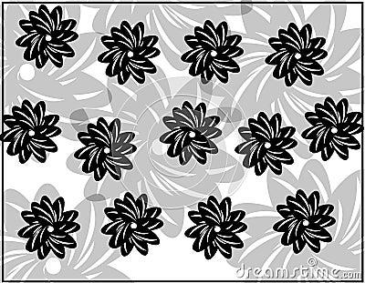Decorative flower design