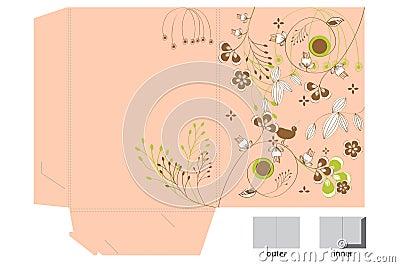 Decorative folder