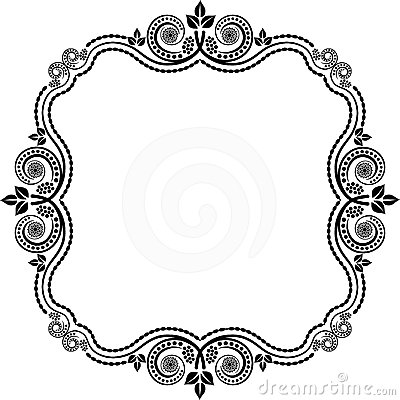 decorative frame stock photo image 24161760