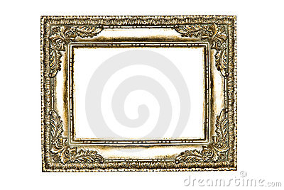Decorative Frame/Silver/Gold