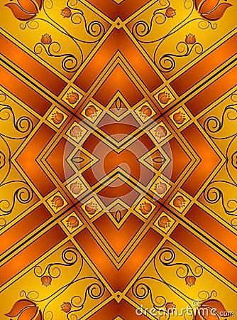 Decorative Gold Patterns 2