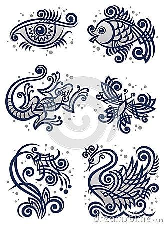 Decorative illustrations2