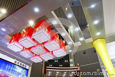Decorative lamps Editorial Photo