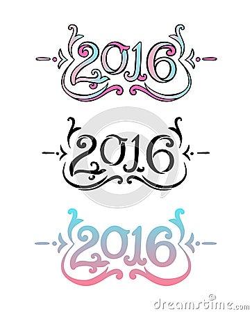 decorative lettering 2016